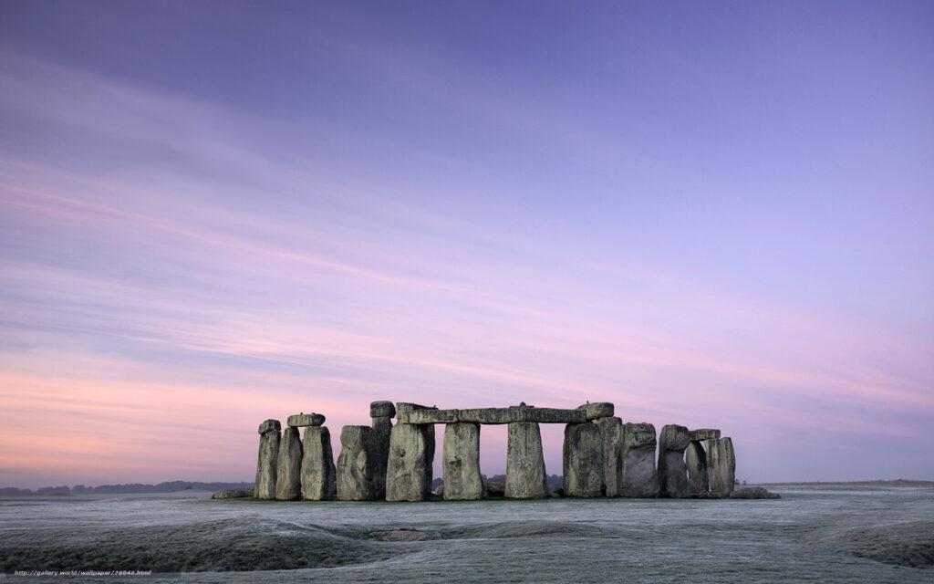 Stonehenge - Cercle de pierre - Cercle de lumière