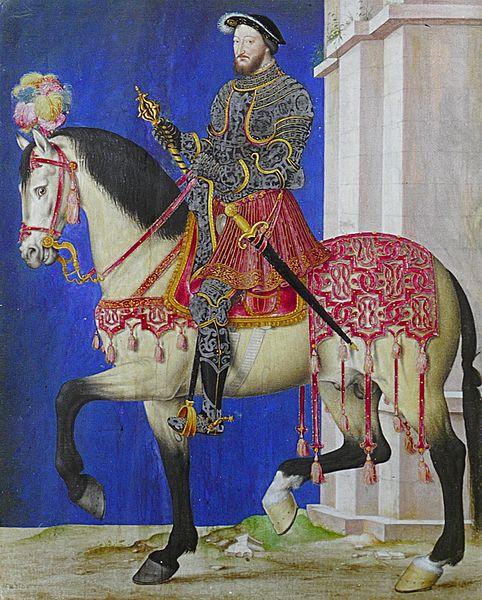 François Ier à cheval
