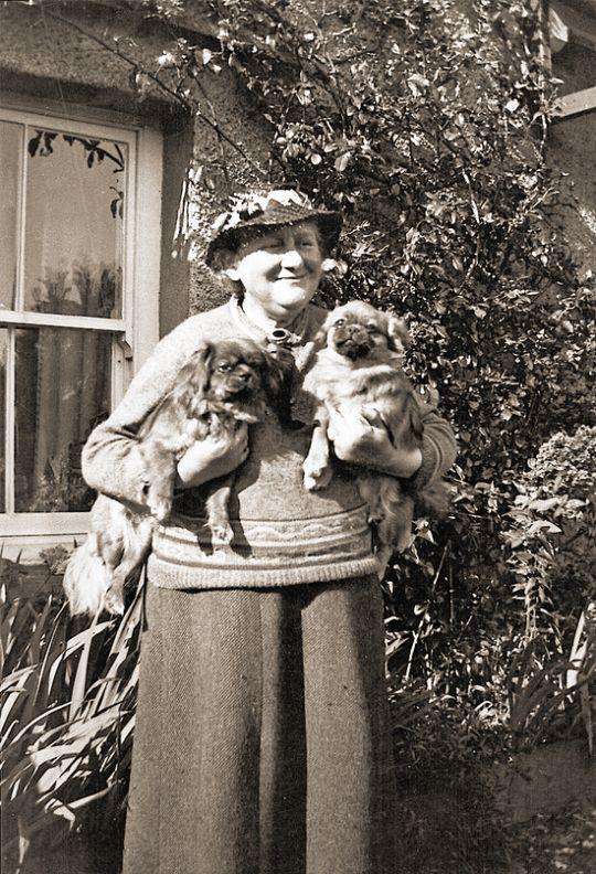 Beatrix Potter et ses petits chiens