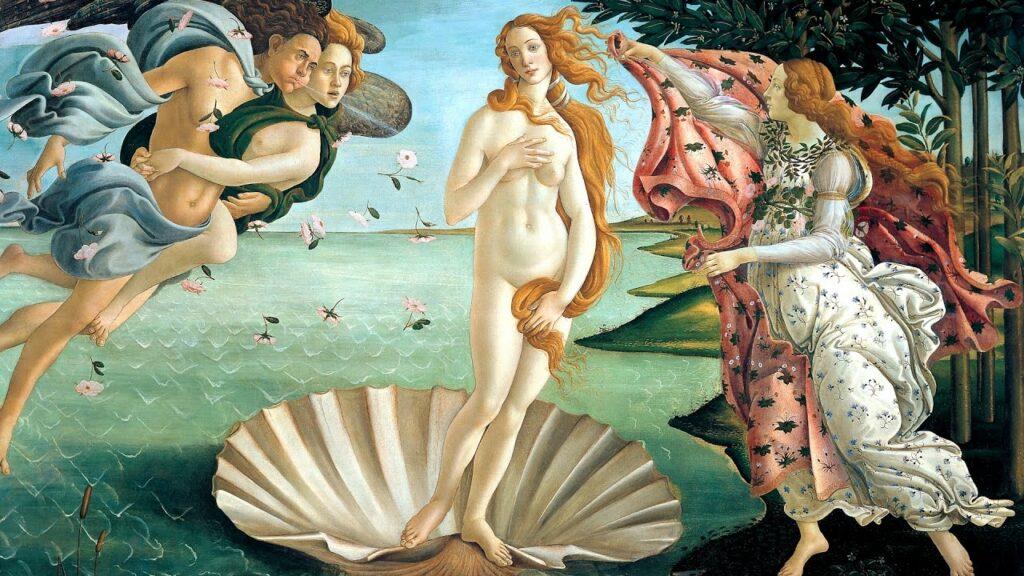 La Vénus de Botticelli