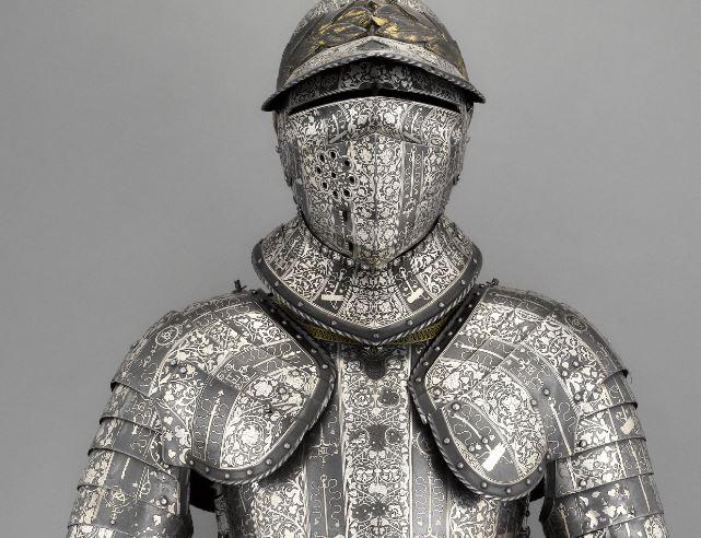Armure d'Henri II - Musée de l'Armée - Paris, les Invalides