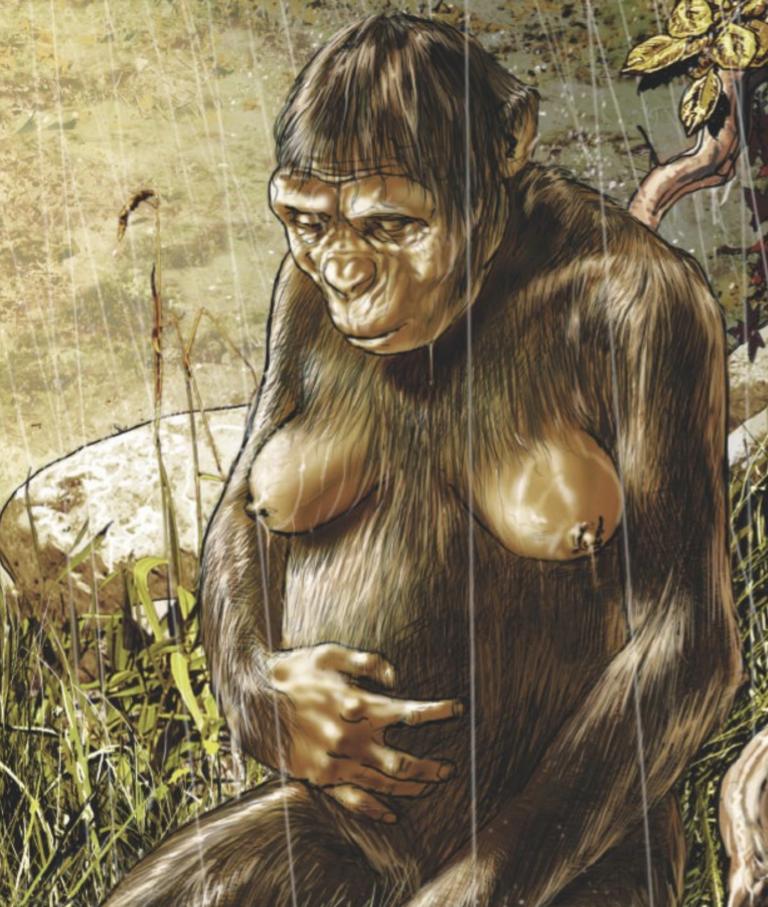 Lucy dans le livre de Patrick Norbert