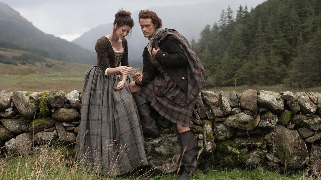 Outlander Jamie et Claire