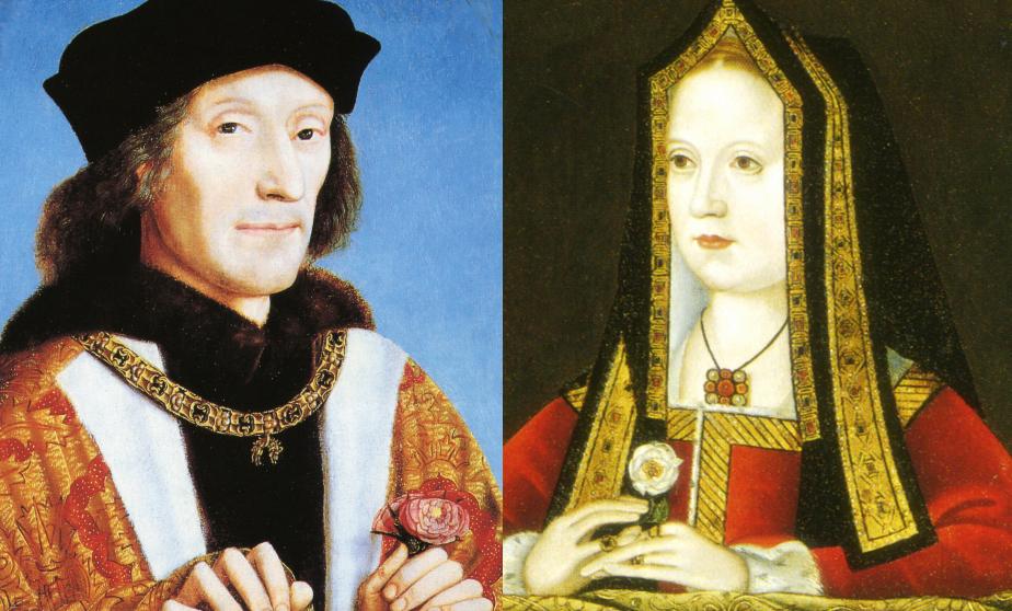 Henri VII et Elizabeth of York Tudor
