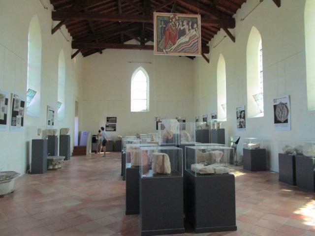 Musée Lapidaire - Abbaye de la Sauve-Majeure - Gironde