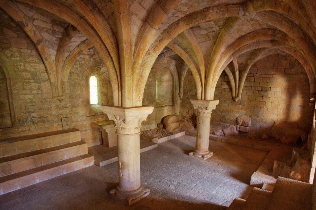 Salle capitulaire de l'abbaye du Thoronet