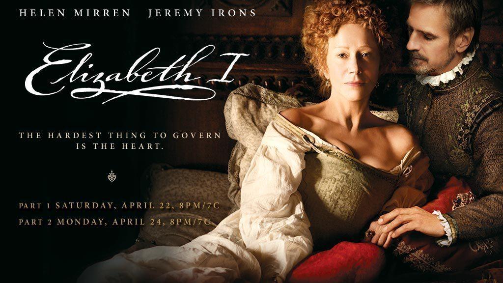 Elizabeth I helen Miren