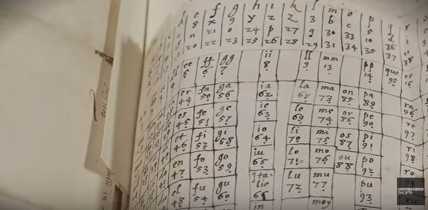 Table des lettres codées Henri IV