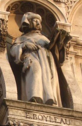 Statue de Boileau - Hôtel de Ville de Paris