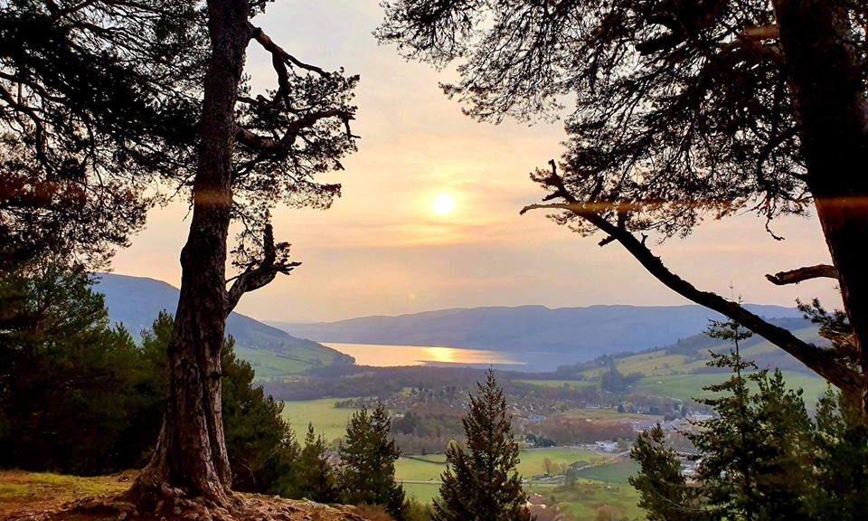 loch ness ecosse highland