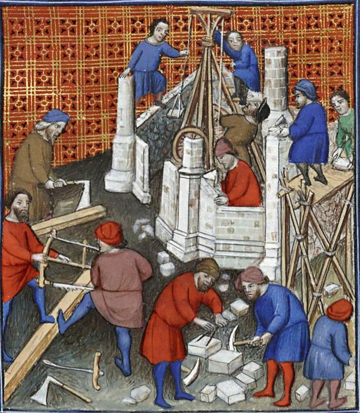 Enluminure du « Titus Livius, Ab Urbe condita » Français  263 BnF département des manuscrits début XVe siècle