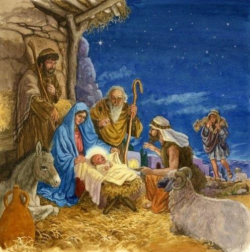 La crêche de Noël - Histoire