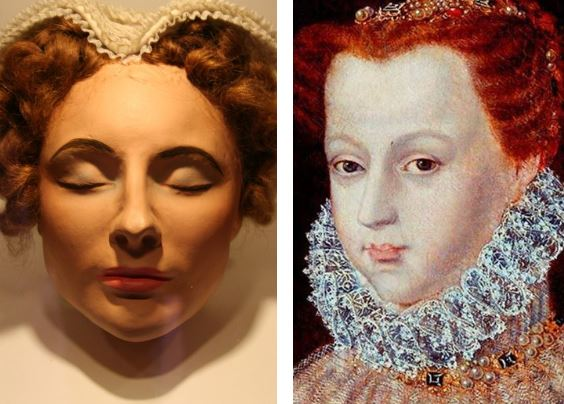 masque mortuaire de Marie Stuart