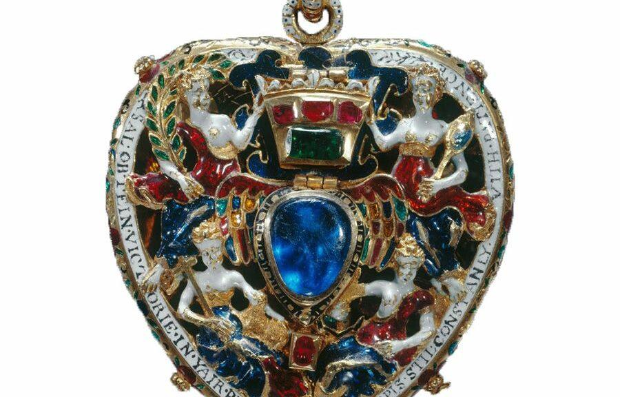 médaillon de Darnley Marie Stuart
