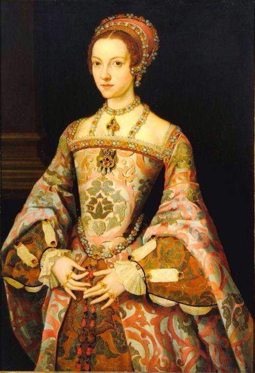 Katherine Parr - XVIe siècle - Artiste inconnu