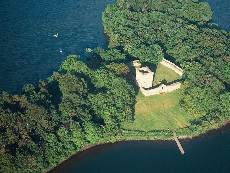 Château de Loch Leven - Wikimédia