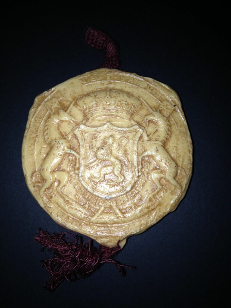 sceau de Marie Stuart