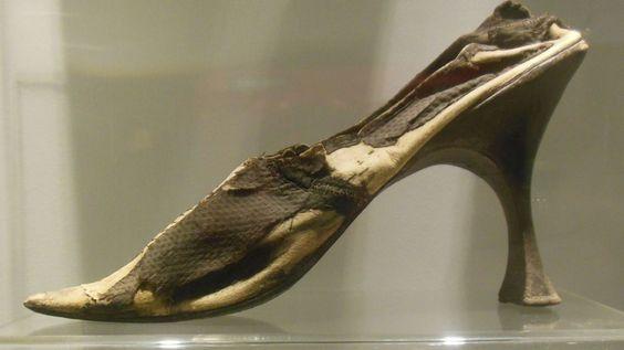 Chaussure de Marie Stuart