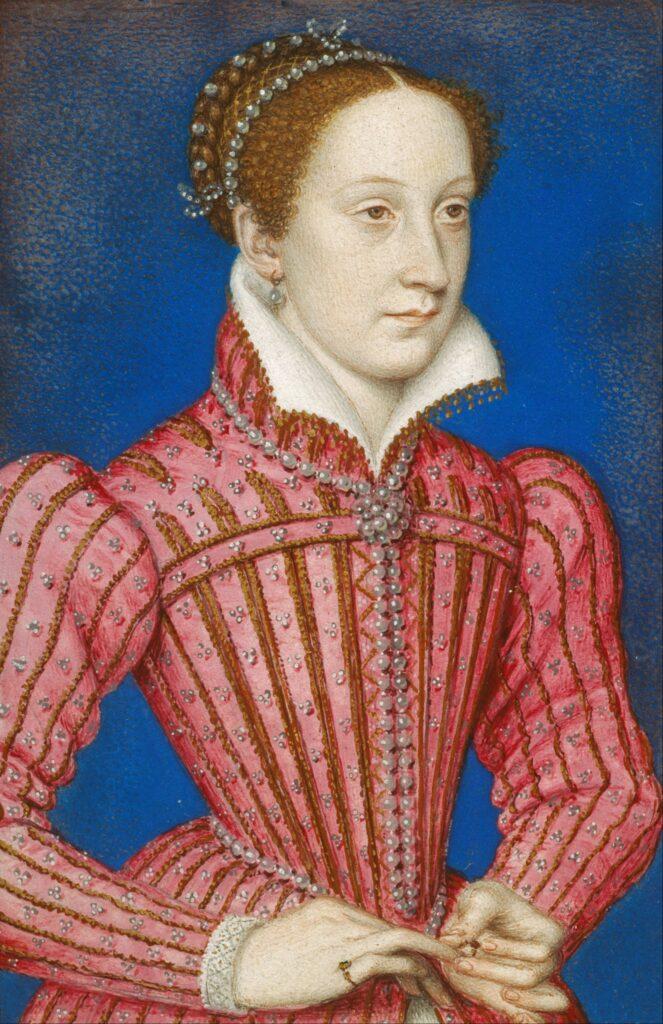 Marie Stuart - portrait de François Clouet - 1558-1560