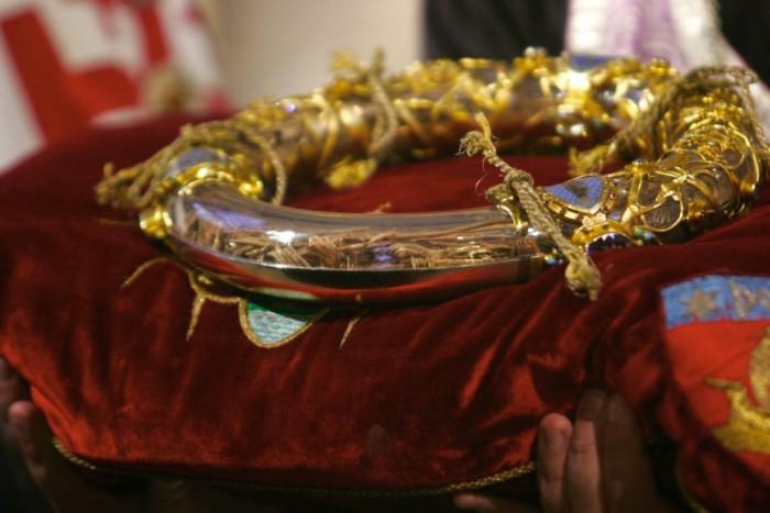 la Sainte couronne de Notre Dame de Paris