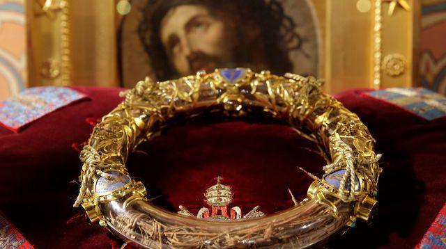 la Sainte couronne d'épines