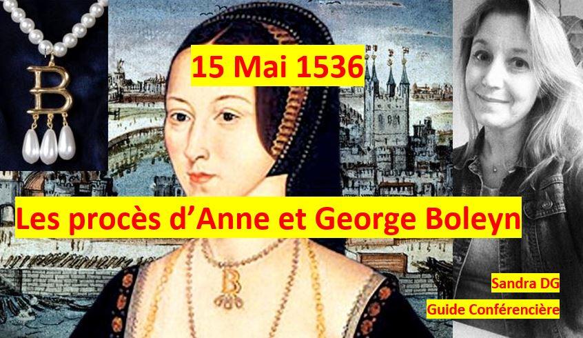 15 mai 1536 - procès Anne Boleyn