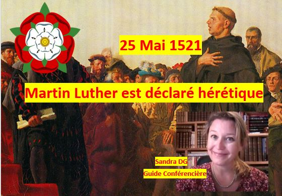 Martin Luther 25 mai 1521