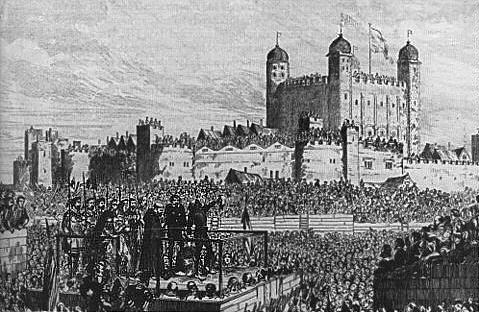 tour de Londres exécutions