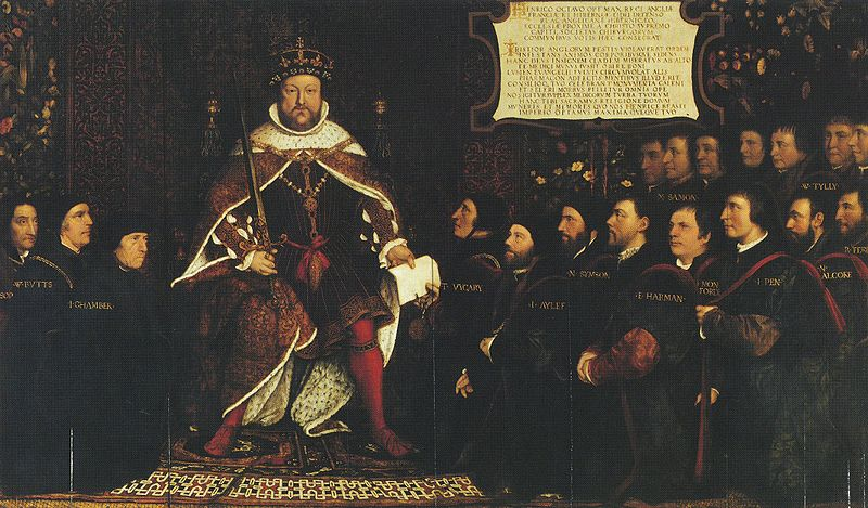 Henri VIII et son conseil