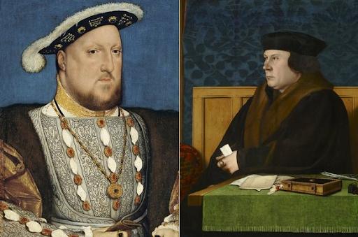 Henri VIII et Thomas Cromwell