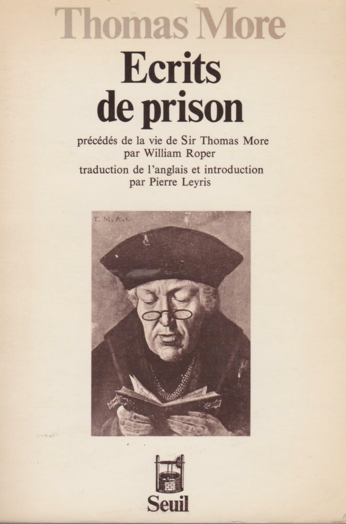 Thomas more écrits de prison