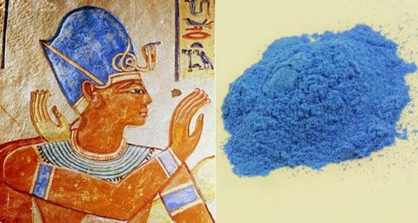 le bleu égyptien